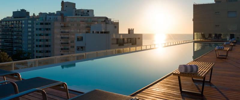 Esplendor Punta Carretas Recepción Rooftop Pool