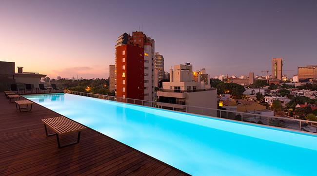 Esplendor Punta Carretas Piscina en Rooftop